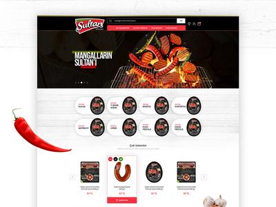 Sultan Et Corporate E-Commerce Design
