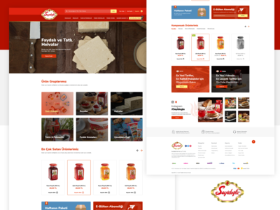 Seyidoğlu E-Commerce UI Design