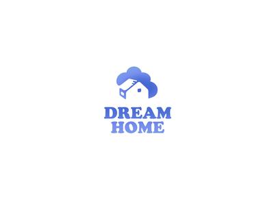 "Logo for startup ""Dream Home"""