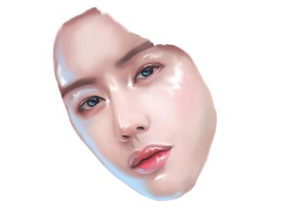 Digital painting. Mark Tuan