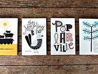 Poplarville Postcards: Set Two