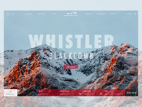 Whistler Blackcomb Landing Page