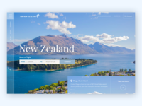 Air New Zealand Landing Page