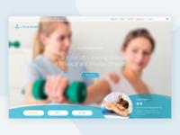 Ecce Health Landing Page