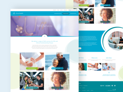 Ecce Health: Detail Pages