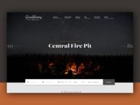 Gooseberry Glamping Landing Page