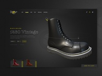 Dr Martens Product Page