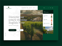 Hush Heath Vineyard Landing Page