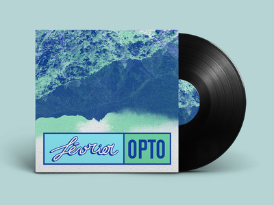 Février — OPTO photoshop design graphic design graphique graphic montagne mountains logotype logo vinyl design electro artwork music artwork music ep