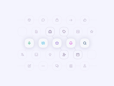 MIZ Icon set icon packs icon pack icons vector illustration vectors concept design icon set icon design iconography home graphic design graphic concept illustration vector icon minimal design clean moghadam.pro