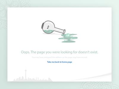 Missing URL : 404 illustrator 404 ui web iran clean creative design moghadam.pro