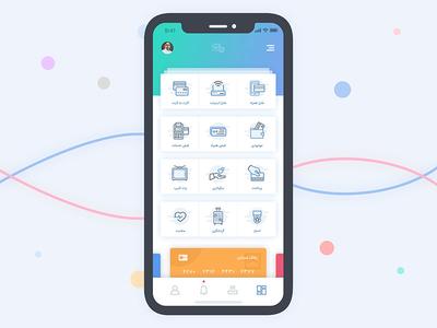 Wallet app iphone x wallet app persian moghadam.pro minimal clean cryptocurrency wallet design ux ui app