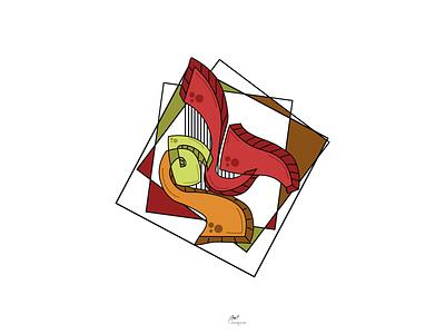 Dream - حلم حلم كاليجرافي تايبوجرافي تايبوجرافى تايبو dream illistration logo 2d logo caligraphy typografia typografi typogaphy typo logo type typo