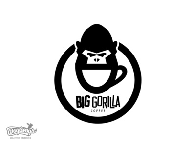 BIG GORILLA coffee logo