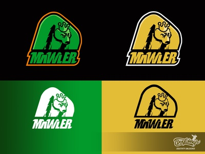 MAWLER logos bear sports graphic branding drawing illustration logo vector design chipdavid dogwings