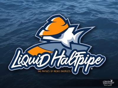 LIQUID HALFPIPE Logo surf shark vector cartoonillustration branding creative drawing icon mascot illustration logo chipdavid dogwings