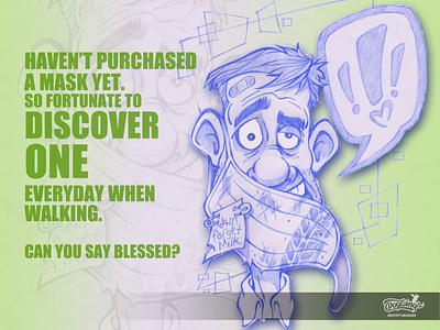 MASKS FUNNY satire funny sketchstories sketch cartoon illustration design chipdavid dogwings
