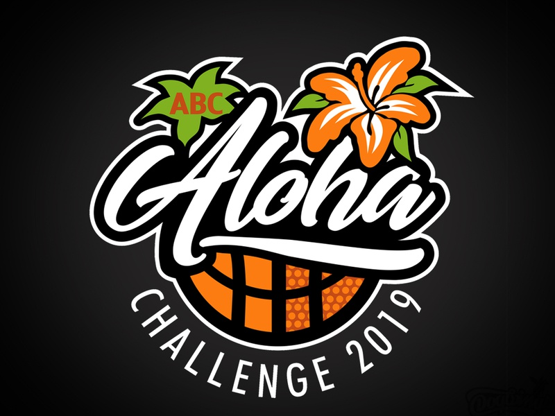 Aloha branding hawaii sports graphic sports logo design logo vector chipdavid dogwings