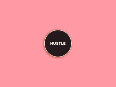 Hustle Silicon Valley Enamel Pin