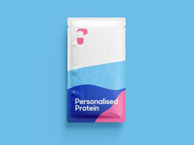 Personalised Co Packaging Design green pink blue bold identity family brand identity brand set stack tear sachet pouch vitamins supplement fitness health protein packagingdesign packaging