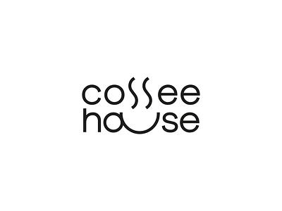 Coffee House Logo modern subtle identity brand identity design logodesign logotype quirk minimal line icon logo branding brand cafe shop cup coffee shop coffee cup coffee