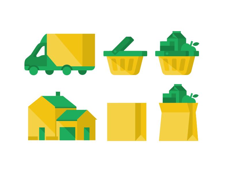 Cornershoponline icons