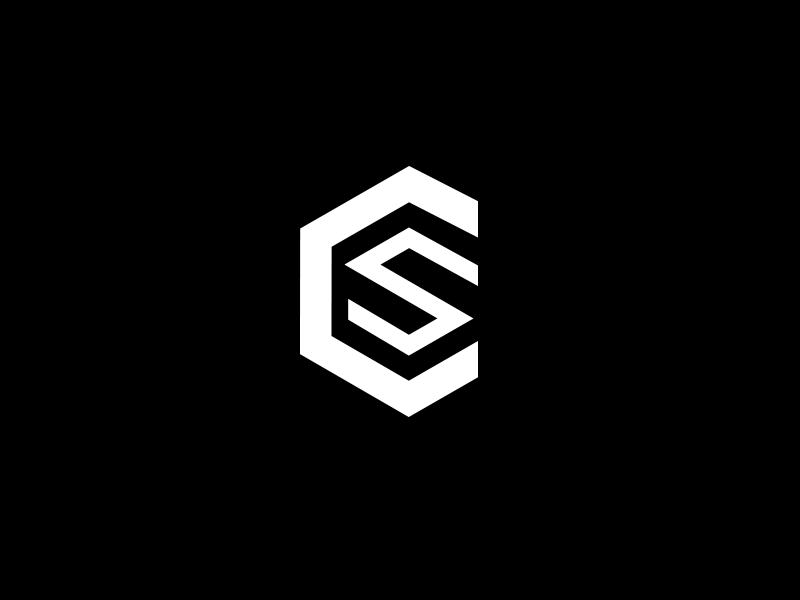 Custom Sourcing icon design shipping courier branding brand identity icon logo 3d cube box white black