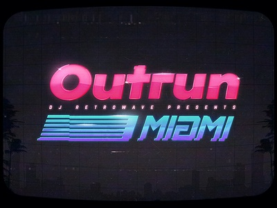 Outrun Miami Synthwave Text Effects Photoshop aesthetics cyberpunk actions outrun smart objects photoshop flashback new retrowave texts electro gaming 1980s 80s effects new wave vaporwave template text styles retrowave synthwave