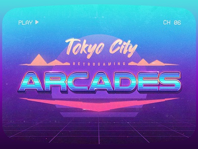 Retro Gaming Arcades Text Effects aesthetics cyberpunk actions outrun smart objects photoshop flashback new retrowave texts electro gaming 1980s 80s effects new wave vaporwave template text styles retrowave synthwave