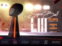 Football Super Bowl Flyer American Football Poster Template