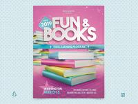 Kids Reading Program Flyer Read Across America School Resources