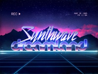 Synthwave Retrowave 80s 1980s Text Effects Styles Photoshop