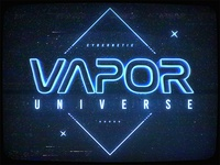 Synthwave Space 1980s New Wave Text Effects Photoshop