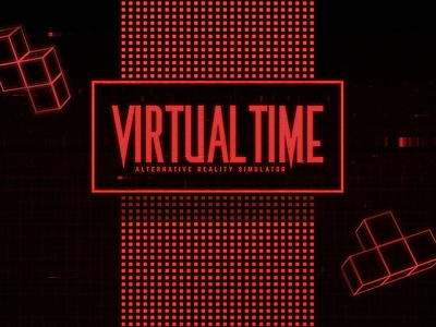 Retro Gaming Classic Nintendo Virtual Boy Text Style