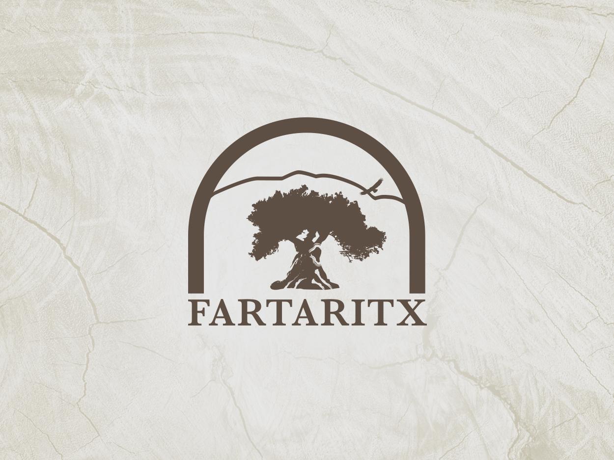Fartaritx mediterranean olivera oil nature tree logo logo
