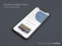 Intuitive Mobile Menu