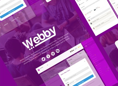 Webby UI (Team Manager)