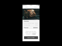 Mobile Email Receipt