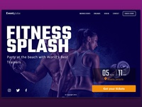 Event page Fitness Splash