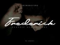 Frederick - a Classic Script Font