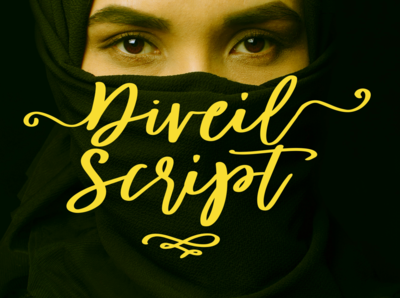 Diveil Script font