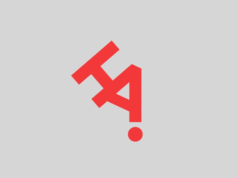Honor Awards letterform minimal red logo honor awards