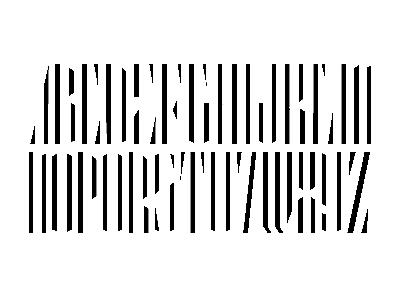Electric Full Alphabet