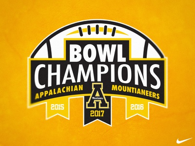 App State Bowl Champions champions mountaineers football bowl university state appalachian apostate