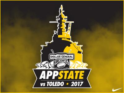 App State Dollar General Bowl Logo
