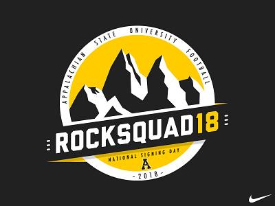 Rocksquad18 high school day signing university appalachian recruit football appstate state app rocksquad rocksquad18