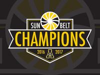 Sun Belt Conference Champions Logo