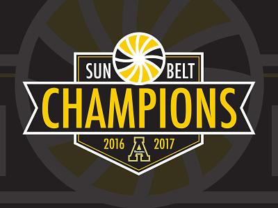 Sun Belt Conference Champions Logo athletics champions football conference logo sunbelt belt sun appalachian appstate state app