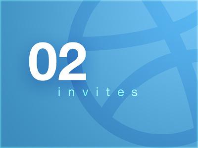 2 Dribble Invites invitation draft join 2 dribbble hello invites invite