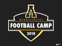 AppState Football Camp Logo